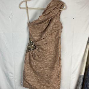 Eliza J Bodycon Ruched Dress sz 8